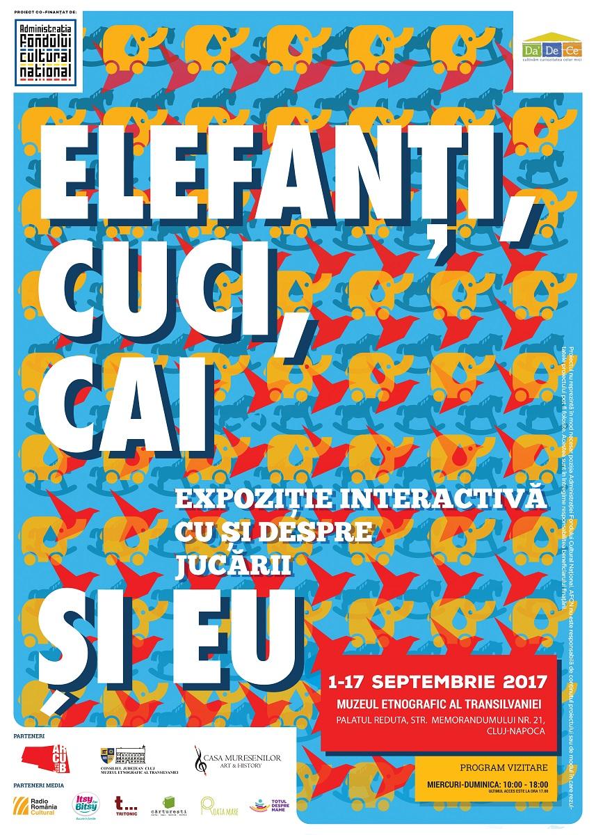 Expozitie interactiva: Elefanti, cuci, cai si EU