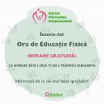 Seminar gratuit pentru parinti responsabili: Ora de Educatie Fizica