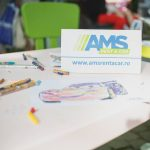 Ateliere creative de 1 iunie, cu AMS Rent a Car