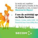 De 1 iunie, hai la Maratonul de Miscare in Familie Secom®!