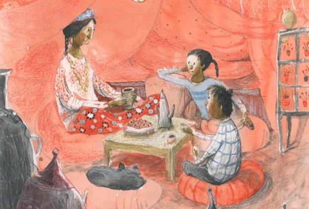 Povestea kendamei pierdute: Prima carte pentru copii cu personaje rome din literatura romana