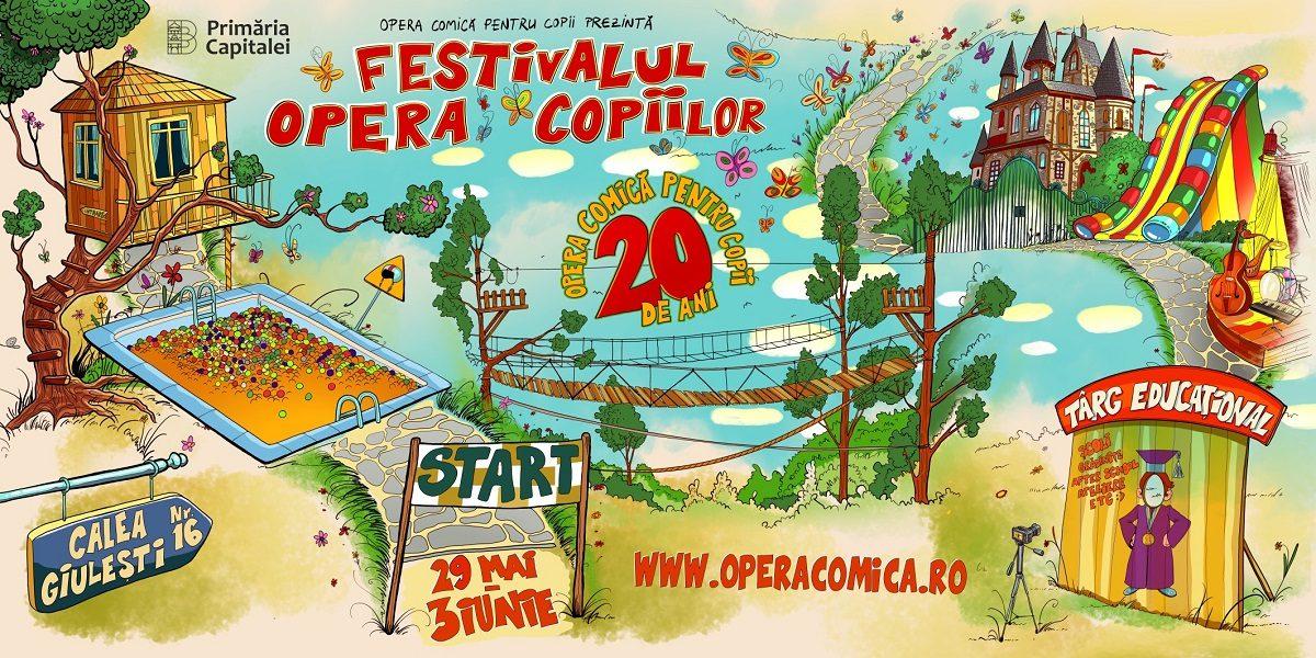 Sase zile de distractii unice pentru intreaga familie la Festivalul Opera Copiilor 2018