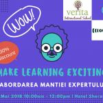 Inscrie-te la conferinta Make Learning Exciting si beneficiaza de o reducere!