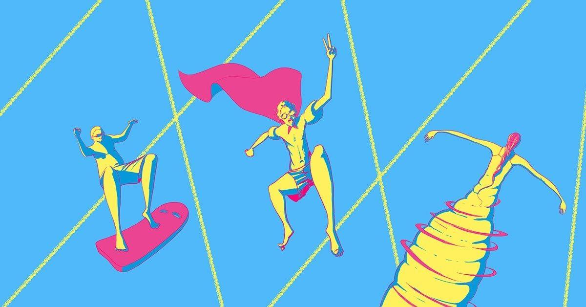 Casa Campionilor NAVI cheama supereroii la apa