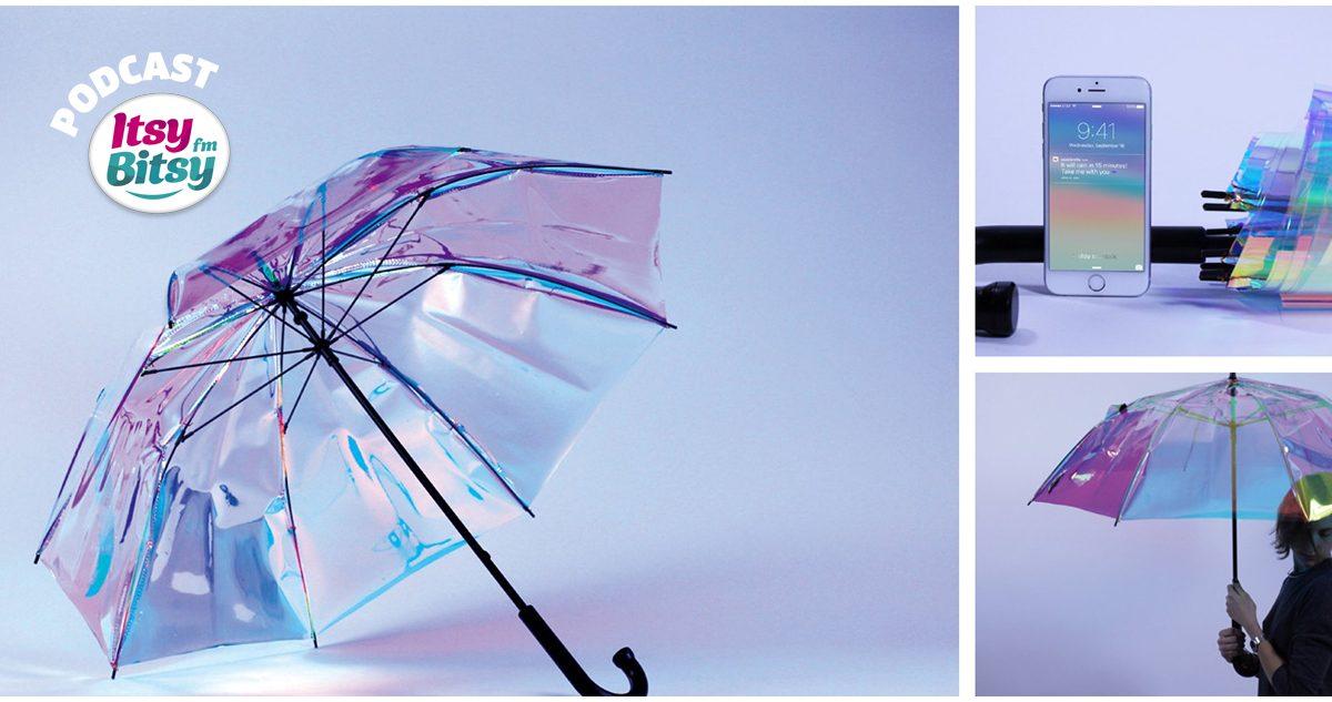 Gadgetul de Marti: Umbrela smart