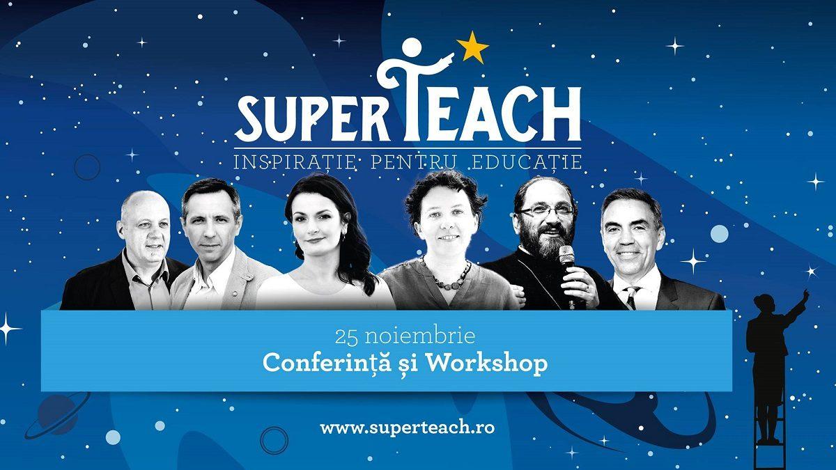 SuperTeach: Inspiratie si Motivatie pentru Educatie