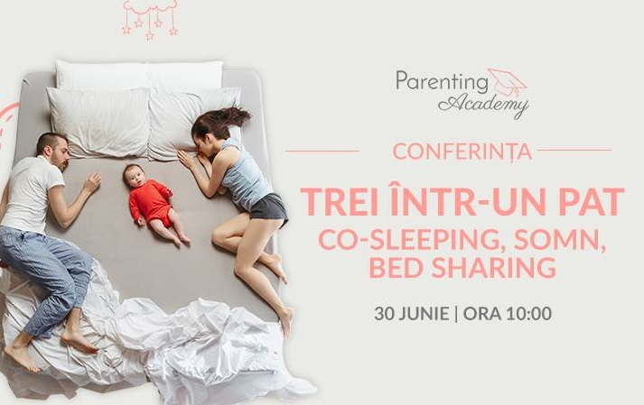 Parenting Academy: Trei intr-un pat. Co-sleeping, somn, bed sharing