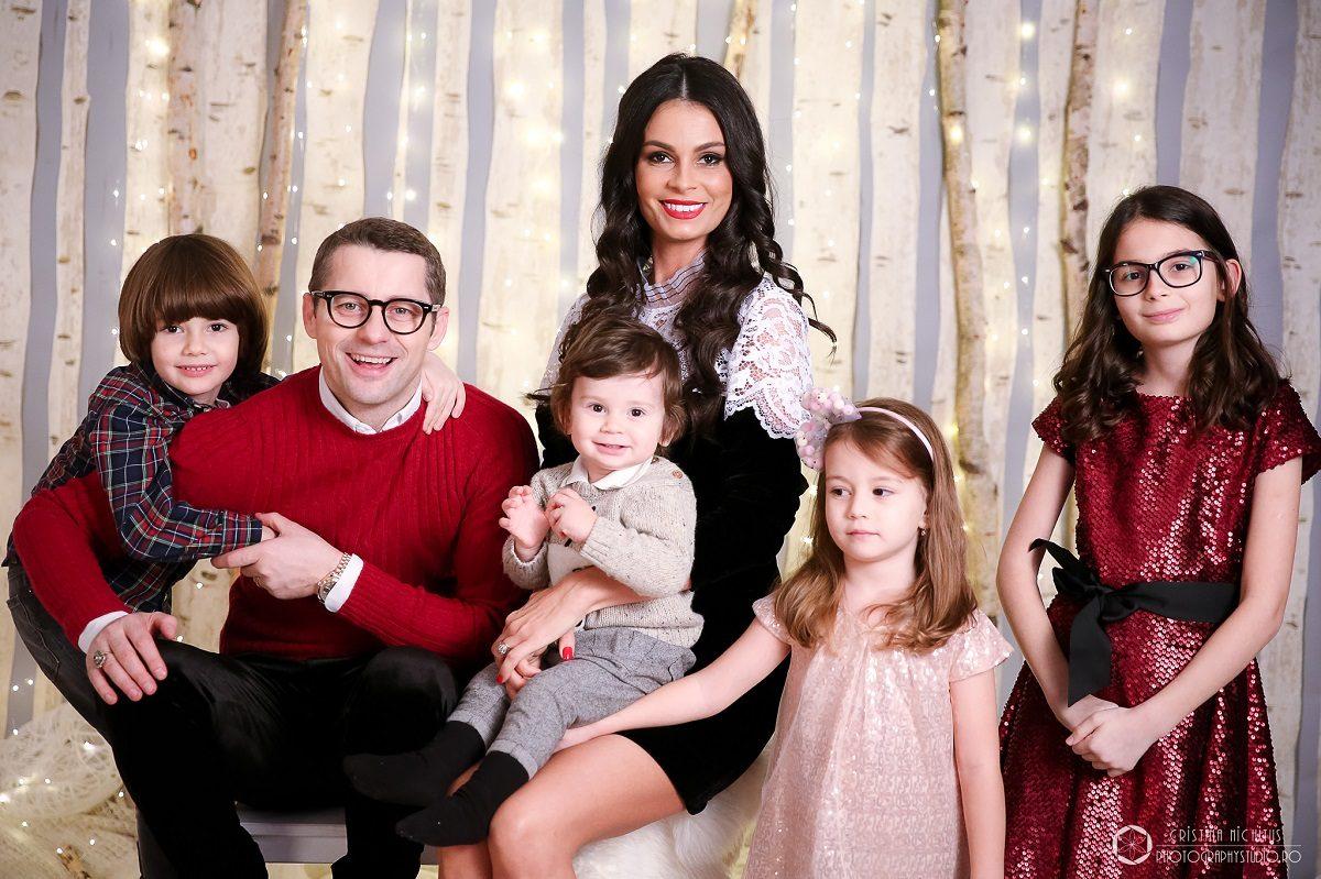 Anca Serea si Adi Sina, cu familia la Photography Studio - Kids & Family