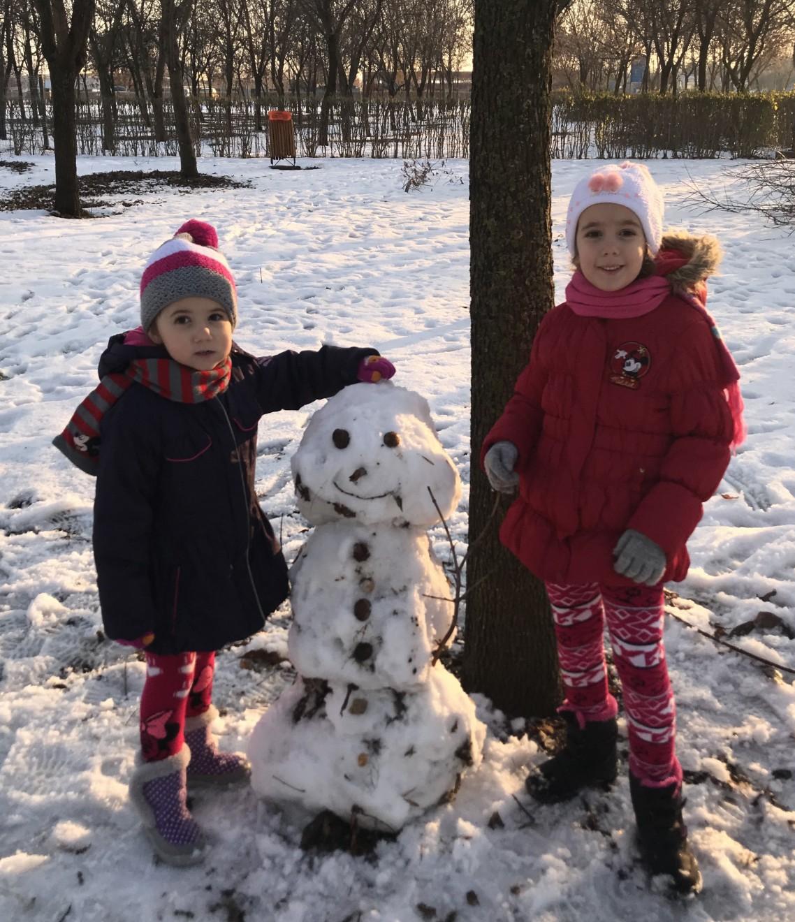 Distracție la zăpada