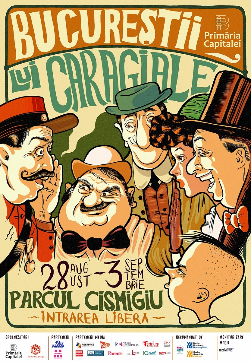 Festivalul Bucurestii Lui Caragiale: Un caleidoscop de activitati pentru parinti si copii