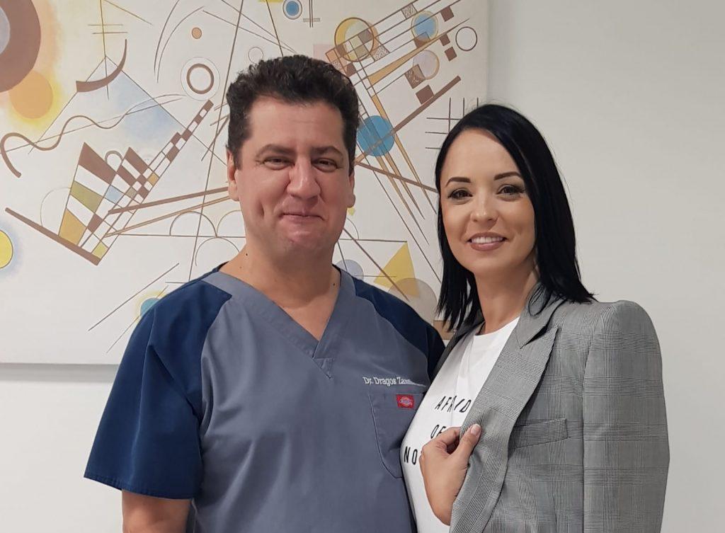 Dr. Dragos Zamfirescu si Andreea Marin
