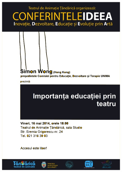 Educatia prin teatru la Tandarica