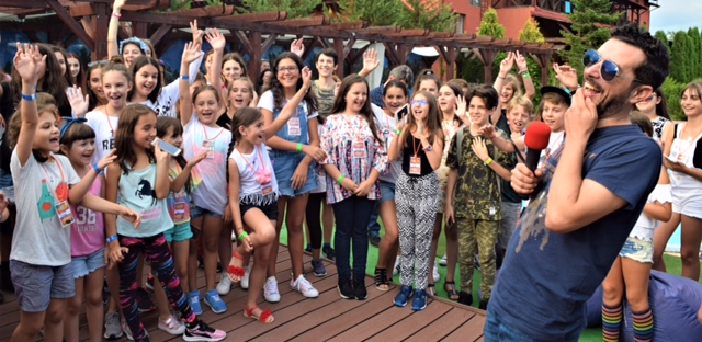 Marius Moga s-a mutat la Snagov, in tabara DeMoga Music Junior Camp