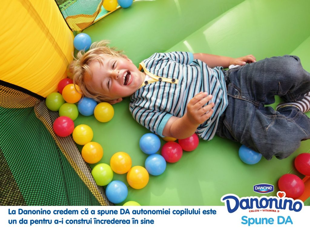 Cu Danonino, ne bucuram impreuna de culorile verii!