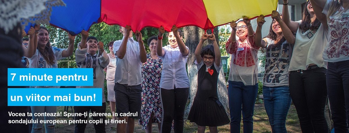 "MAE, UNICEF si Eurochild lanseaza sondajul de opinie ""Europa pe care si-o doresc copiii"""