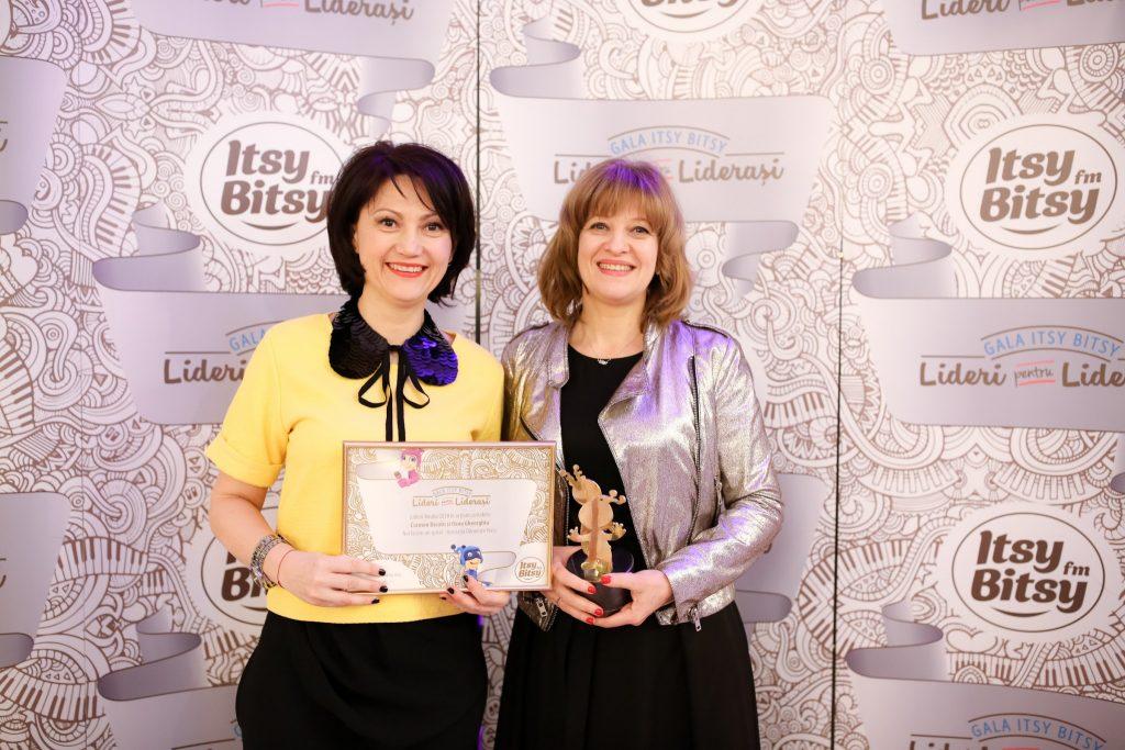 Carmen Uscatu si Cristina Gheorghe