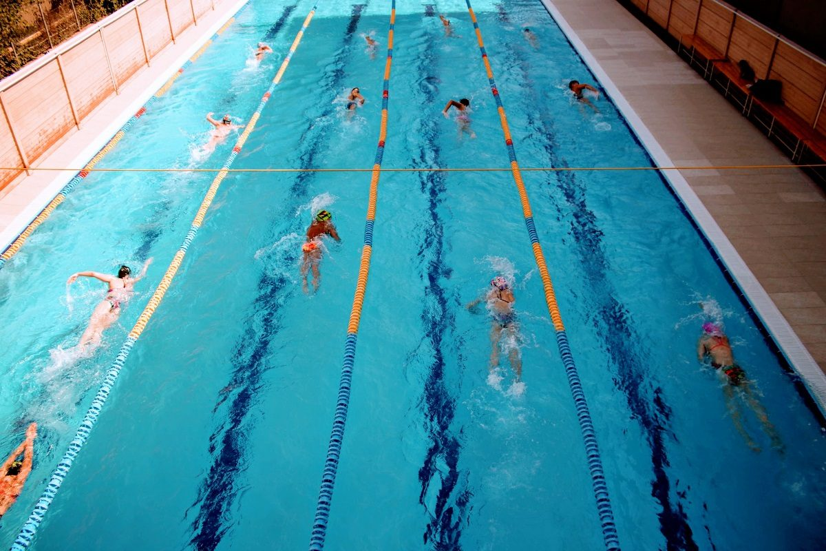 Cel mai nou bazin de înot din București: Casa Campionilor NAVI