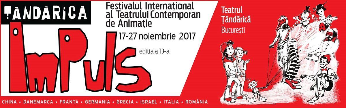 Teatrul de Animatie Tandarica anunta inceperea Festivalului ImPuls 2017