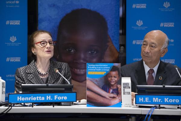 Henrietta H. Fore, Director Executiv UNICEF
