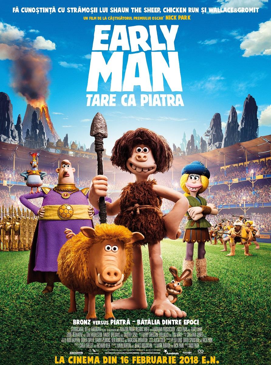 In cinematografe - Early Man: Tare ca Piatra