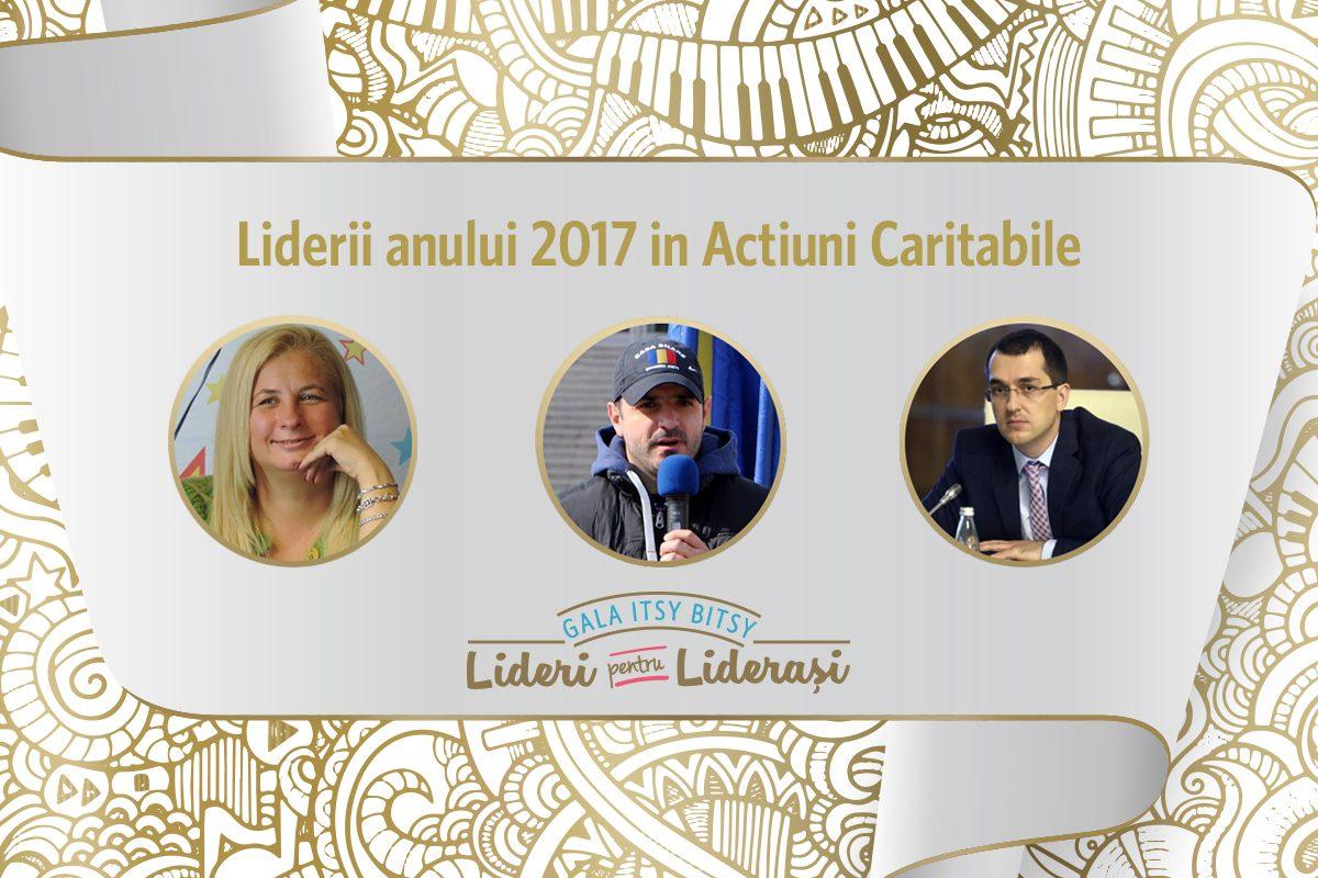 Gala Itsy Bitsy: Liderii anului 2017 in Actiuni Caritabile