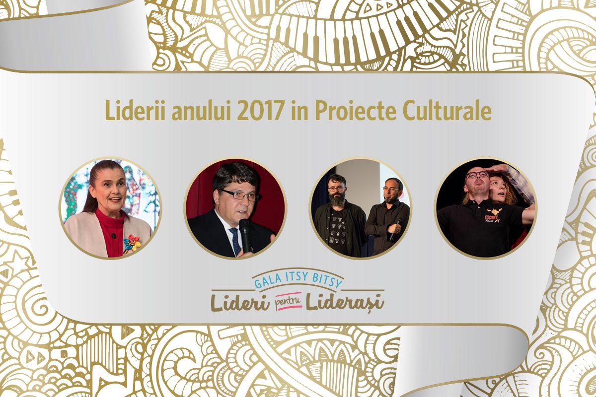 Gala Itsy Bitsy: Liderii anului 2017 in Proiecte Culturale