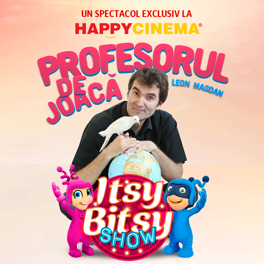 Itsy Bitsy Show: Scoala vesela cu Profesorul de Joaca