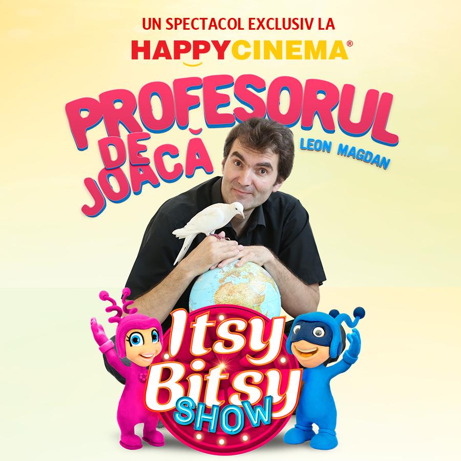 Itsy Bitsy Show: Ghici de la bunici cu Profesorul de Joaca