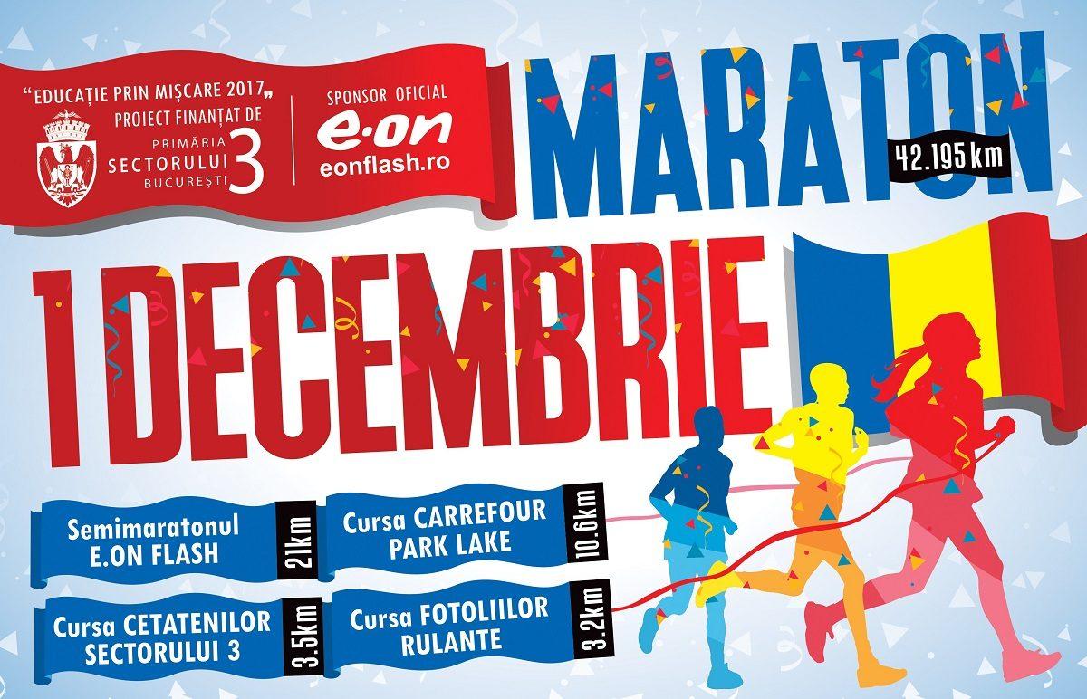 Educatie prin Miscare: Inscrie-te la Maratonul 1 Decembrie!