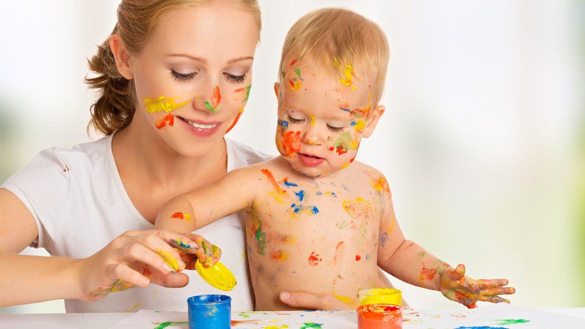Dezvoltarea bebelusului: Cum invatam culorile