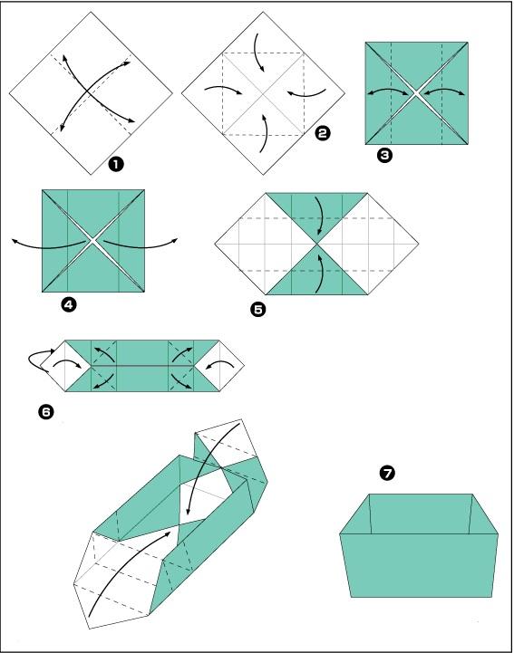 cutiuta origami