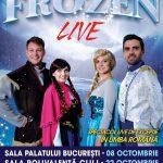 "Spectacolul ""FROZEN - Regatul inghetat"", PREMIERA EUROPEANA la Bucuresti"