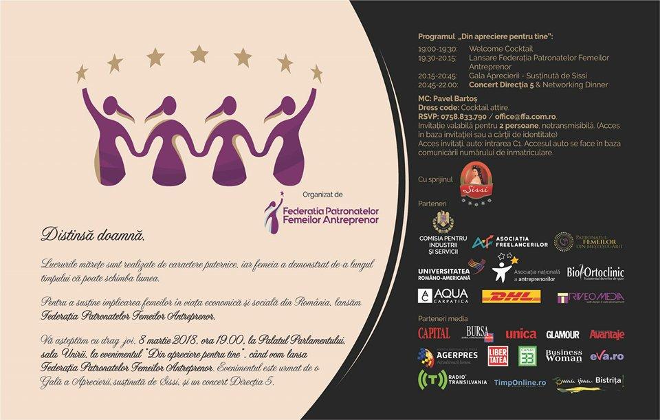 Se lanseaza Federatia Patronatelor Femeilor Antreprenor