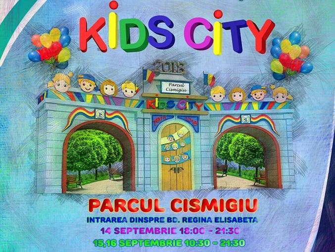 Parcul Cismigiu asteapta parintii si copiii la Kids City!