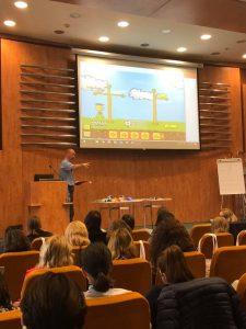 Martin Bailey la Conferinta de Educatie Timpurie 2019