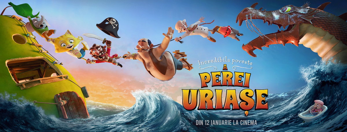 La cinema in familie: Incredibila Poveste a Perei Uriase