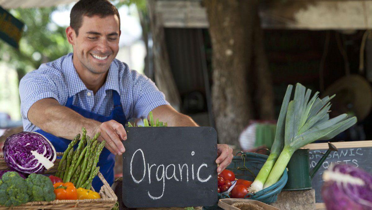 Vanzator de produse bio, organice
