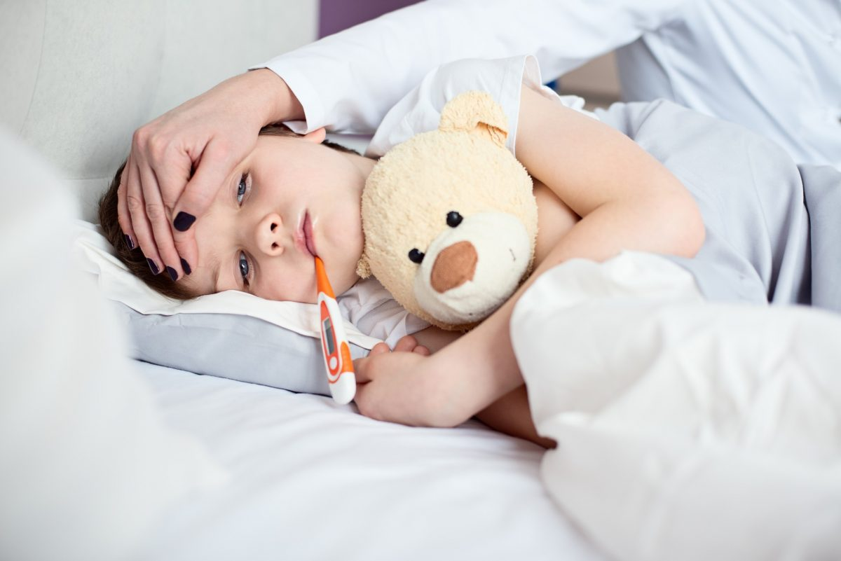 gripa intestinala copii