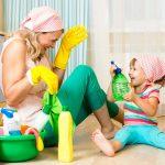 Cand incepe copilul sa ajute la curatenie