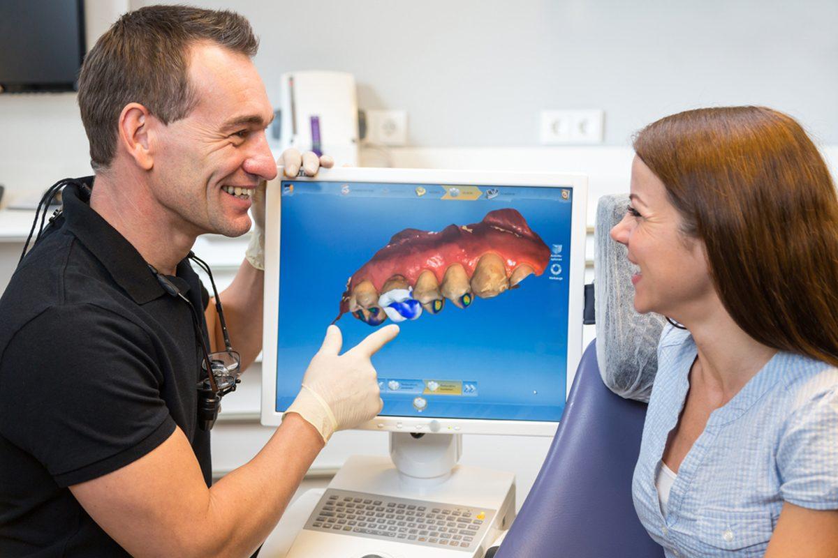 Tratament rapid pentru coroane si fatete dentare