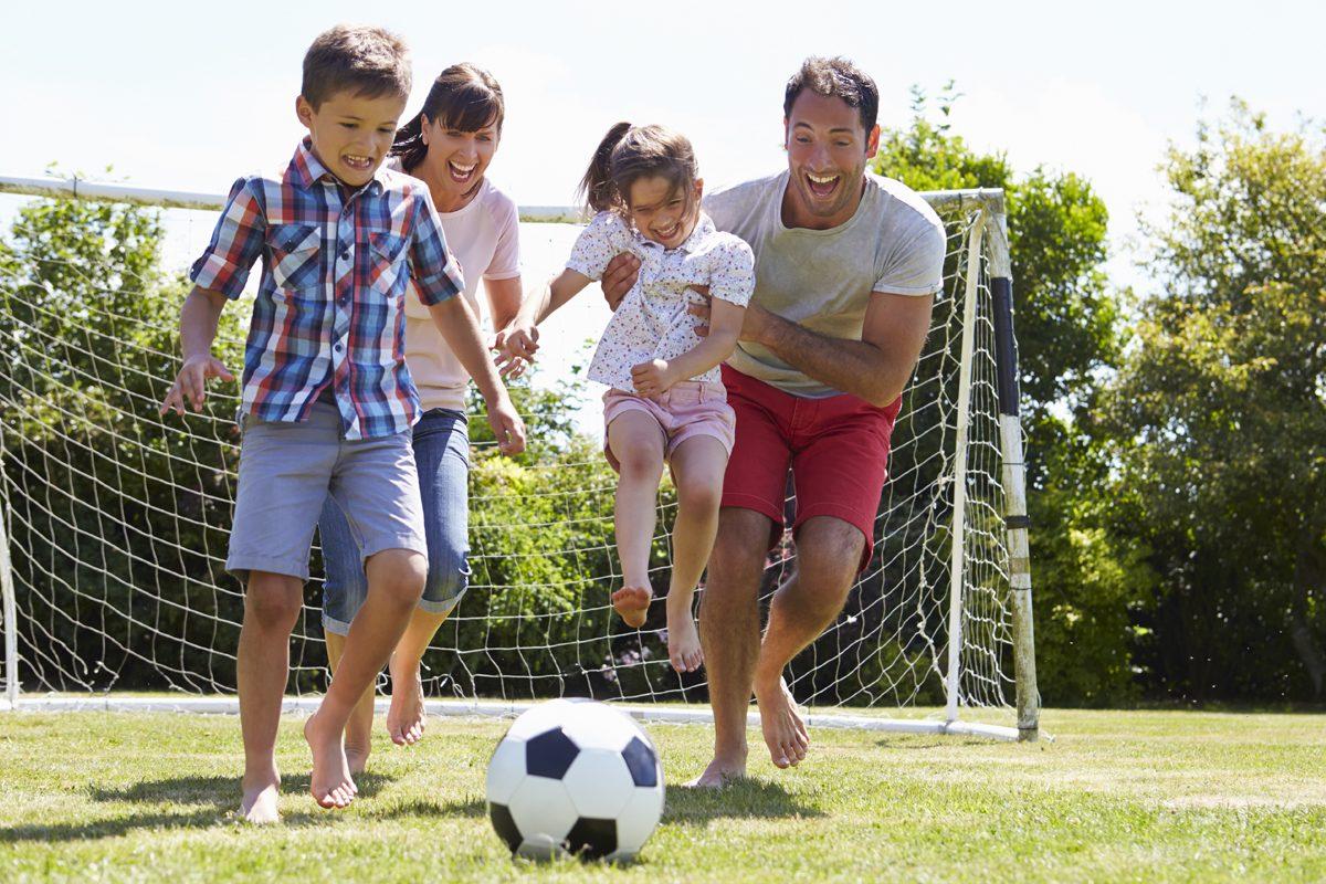 Variante de sport pentru copii – cu Ilinca, 9 ani