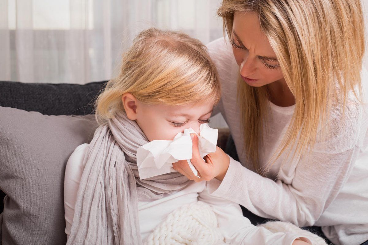 Solutii naturale antivirale pentru copii
