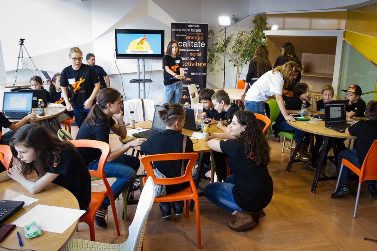 SuperCoders lanseaza un concurs de programare pentru copii