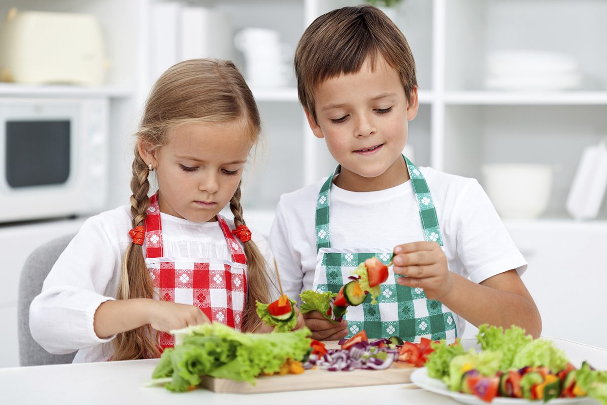 Idei de gustari rapide pentru copii
