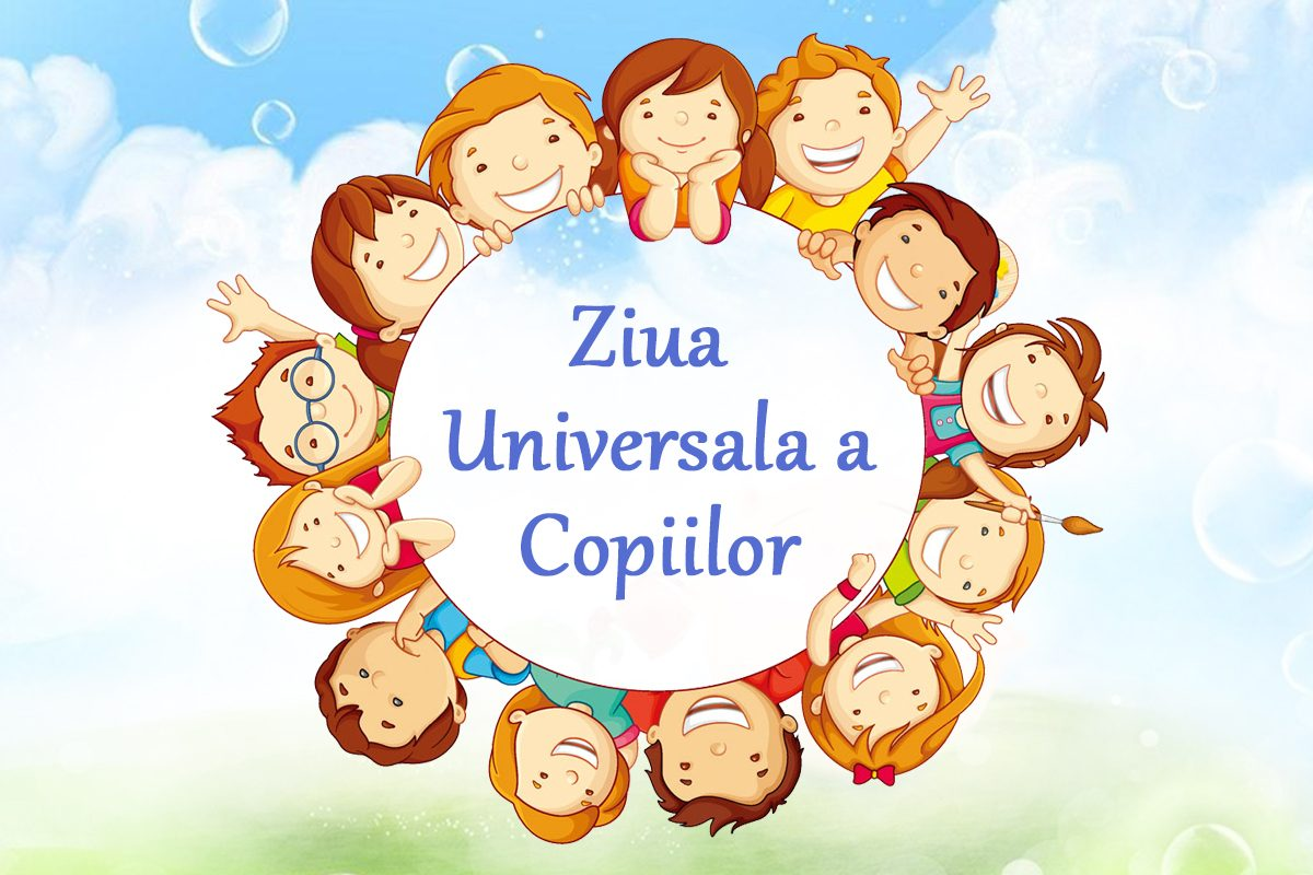 20 noiembrie este Ziua Universala a Copiilor