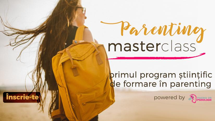Parenting MasterClass: Primul program stiintific de formare in parenting