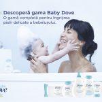 Pe 1 iunie, Baby Dove ofera o experienta unica copilului tau