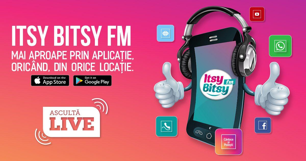 Aplicatia Itsy Bitsy FM: Un nou motiv de bucurie in familie