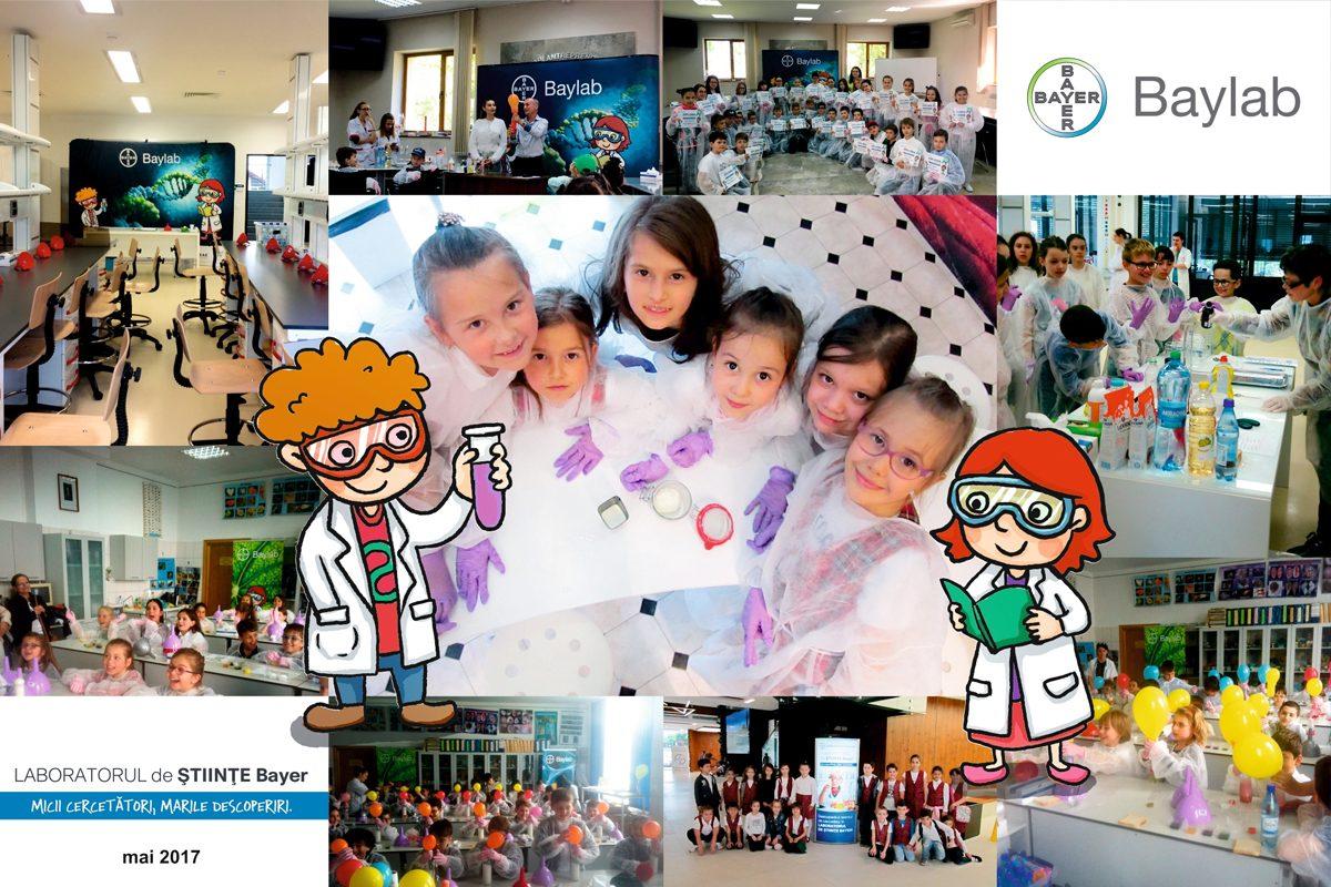 Baylab 2018: Start la experimente pentru copii