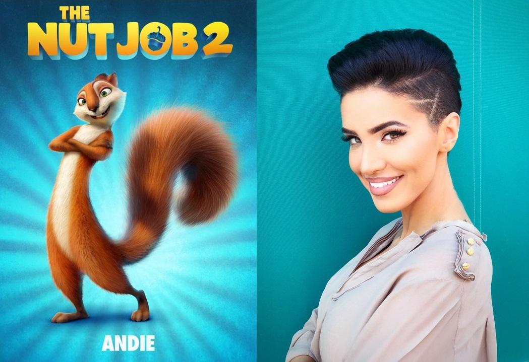 "Adelina Pestritu: Cea mai curajoasa veverita, in animatia ""Nut Job 2: Goana dupa alune"""
